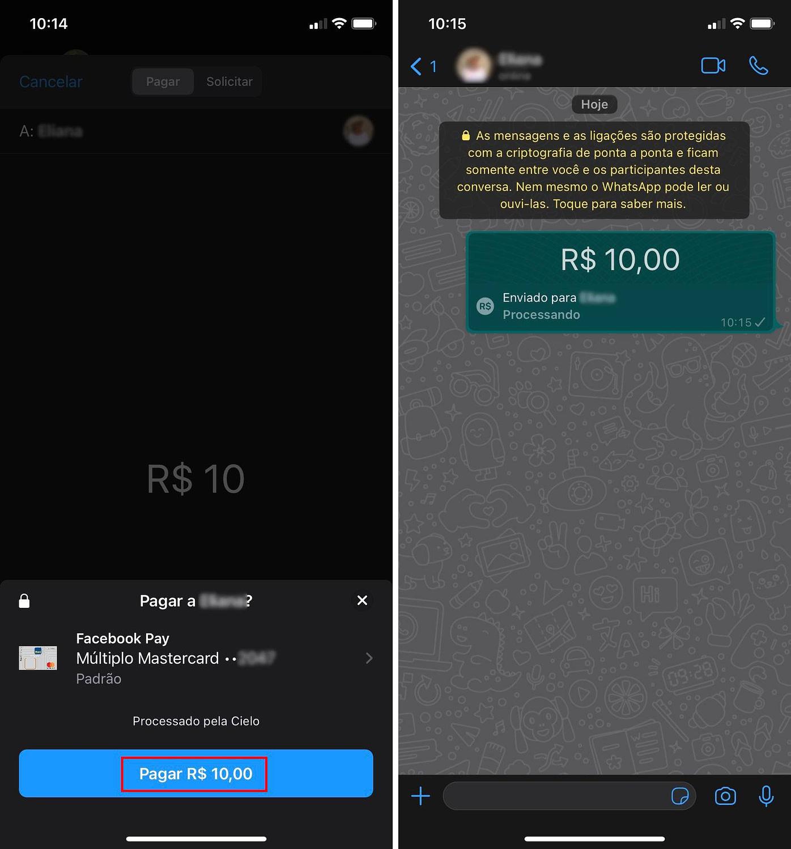 Como Enviar e Receber Pagamentos por WhatsApp
